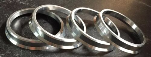 Ac-Schnitzer Hartge Center Ring 82 MM To 74 MM Aluminum Material Set Of 4 Pcs