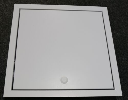 1hr Fire Rated Metal Access Panel Brilliant White Inspection Hatch 35mm Deep