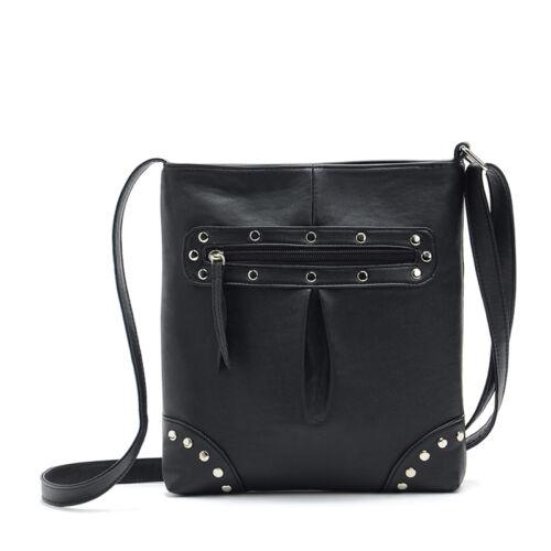 New Womens Handbag Leather Satchel Cross Body Shoulder Messenger Bag Special