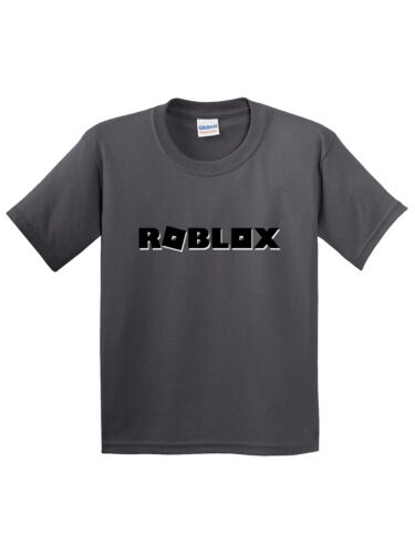 Youth T-Shirt Roblox Block Logo Game Accent New Way 1168