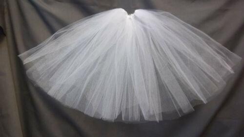 full length petticoat crinoline Ellowyne Wilde msd bjd White