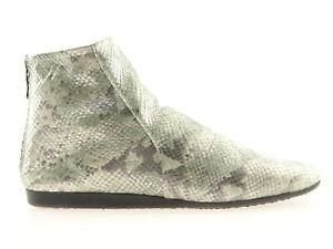 Arche Lilou Damen Schuhe Stiefeletten Kurzschaft-Boots Grün Kalbsleder France