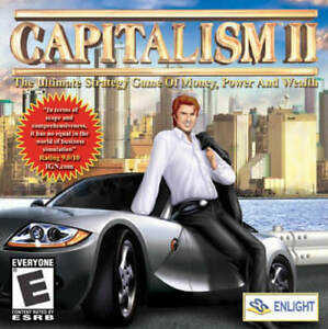 CAPITALISM-II-2-Tycoon-Empire-Building-Sim-PC-Game-Windows-XP-7-8-10-NEW-CD