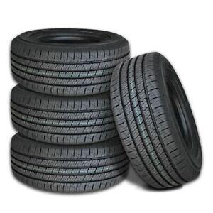 4 Lexani LXHT-206 P265/65R17 110T SUV/Truck Premium Highway All Season M+S Tires