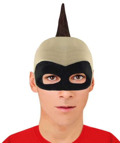 Colors Bald Head Hair Wig with Mask for Cosplay Incredibles 2 Baby Jack Parr