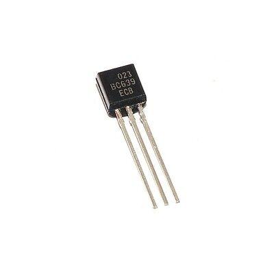 100PCS BC639 Transistor NPN 80V 1A 0,8W TO92 von CDIL