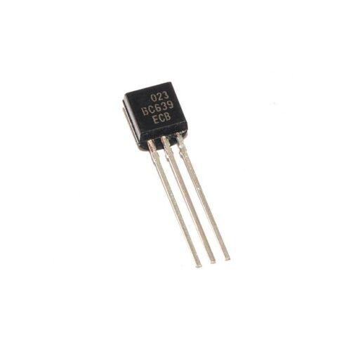 50PCS BC639 Transistor NPN 80V 1A 0,8W TO-92 NEW