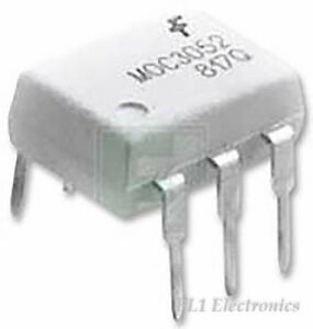 FAIRCHILD-SEMICONDUCTOR-MOC3081-M-Optokoppler-Triac-Schrauber-Dip-W