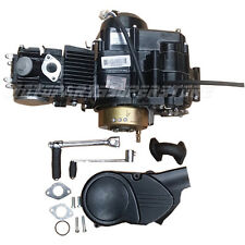 110cc 4-stroke Dirt Bike Engine with Semi Automatic Transmission, Kick Start