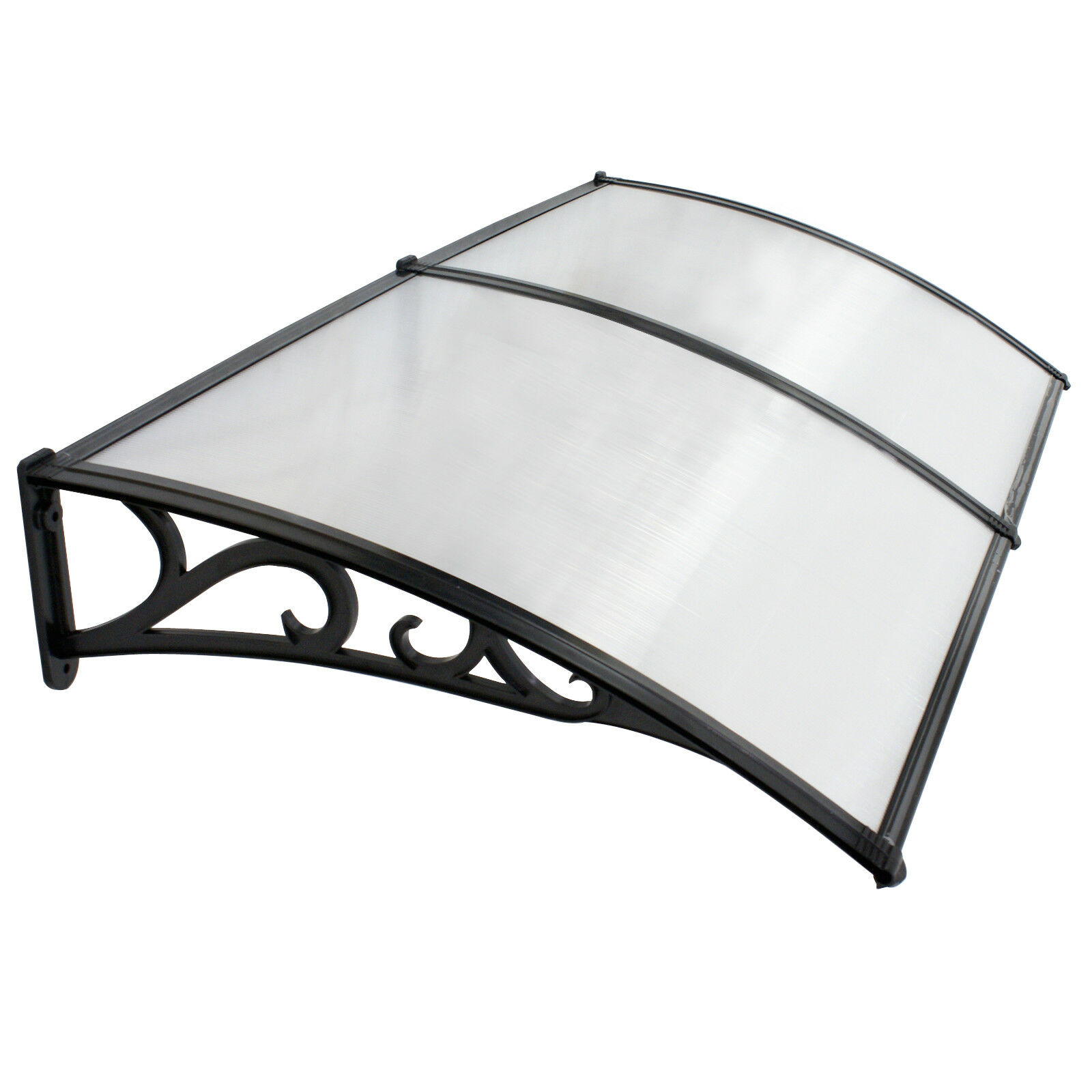 40″ x 80″ Outdoor Polycarbonate Front Door Window Awning Patio Cover Canopy Awning & Canopy Parts