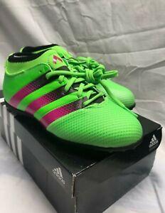 Nouveau Adidas Ace 16.3 primemesh fileté fourche J football crampons AQ2559-Vert Rose Noir