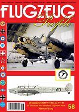 FLUGZEUG Profile Nr. 58 Messerschmitt Me 110 G / H  (Teil 3)