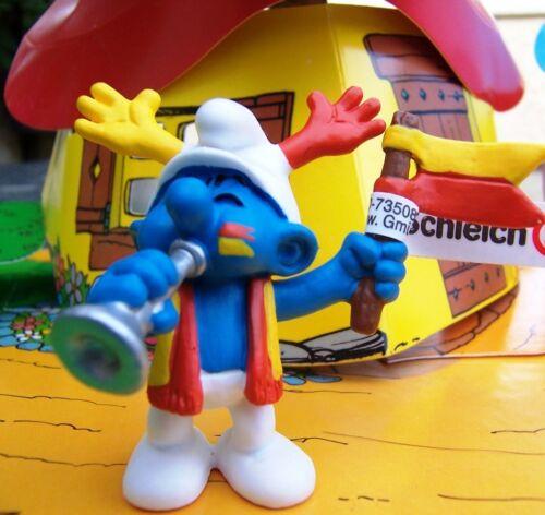Schtroumpf supporter Smurf smurfy pitufo puffo puffi schlumpf schtroumpfette