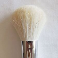 Beautydec Makeup Brush White Goat Hair Black Handle Large Face Powder Brush