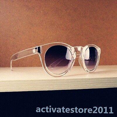 Unisex Round Sunglasses Rivet Plastic Frame Eyewear Round Eyeglasses Glasses