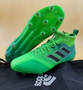huge discount be376 85483 Details about Adidas ACE 17.1 Primeknit FG SIZE 12.5 Men Soccer Cleats  Solar Green BB5961 $200