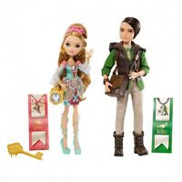 Mattel Bfx07 - Ever After High - Ashlynn Ella 2er Pack Puppen Ankleidepuppe Set