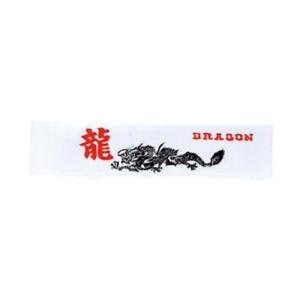 Arts Martiaux Bandeaux No 4 Dragon Kanji Karaté Serre-tête Déguisement Costume