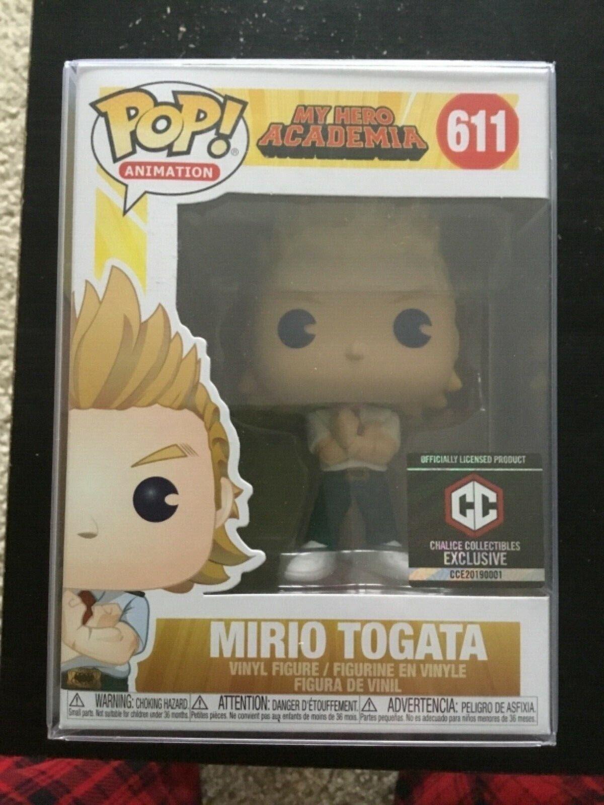 Funko Pop My Hero Academia Mirio Togata Chalice Collectibles Exclusive IN STOCK