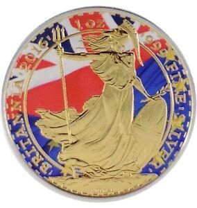 2018 1 Oz Silver CONFEDERACY FLAG EAGLE Coin WITH 24K GOLD GILDED.