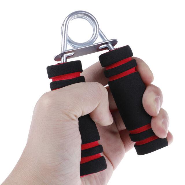 Foam Hand Wrist Power Grip Strength Training Grips Fitness Gym Exerciser Gripper