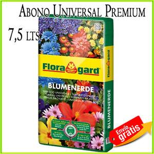 Substrat-Universal-Floragard-7-5-Liter-Naehrstoffe-Pflanzen-Rasen-Blumen-Garten