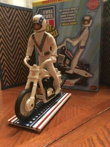 Evel Knievel Stunt Cycle Display Stand; NO KICKSTAND SOLUTION