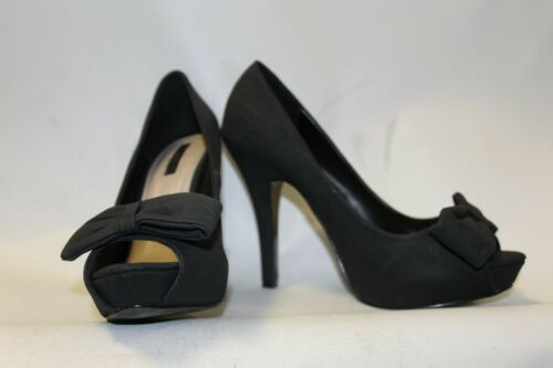 Black Size Detail Shoes Bow Heels Ladies 6 Killer 39 Zara With Uk d6YXBw