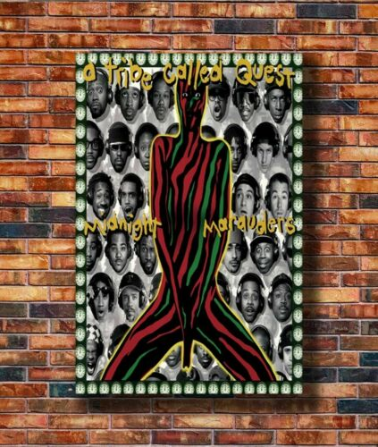H325 New A Tribe Called Quest Midnight Marauders Poster 12x18 24x36 Art