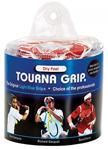 Tourna Grip, Original Dry Feel Tennis (30 Grips) in a Vinyl Pouch
