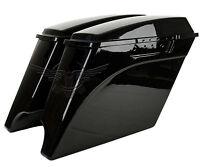 4 Stretched Harley Davidson Saddlebags Extended Saddle Bags 1993-2013 Vivid