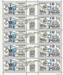 Polarpost - Kleinbogen 30 Jahre TAAF