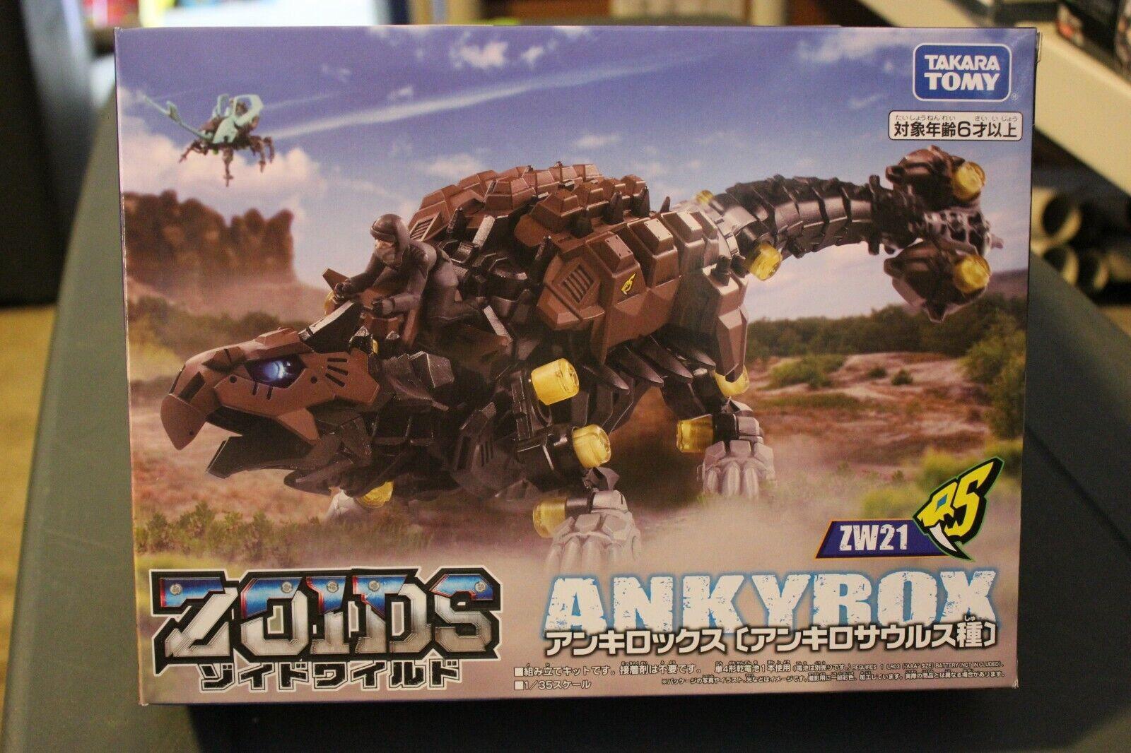 ZoidsWild Zoids Wild  Ankyrox ZW21