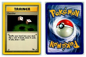 Gambler-60-62-Fossil-Pokemon-Card-P-Condition