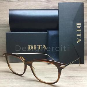 feec412bbab0 Dita Legends Chic Eyeglasses Amber Gold DRX-3035-B-AMB-52 Authentic ...