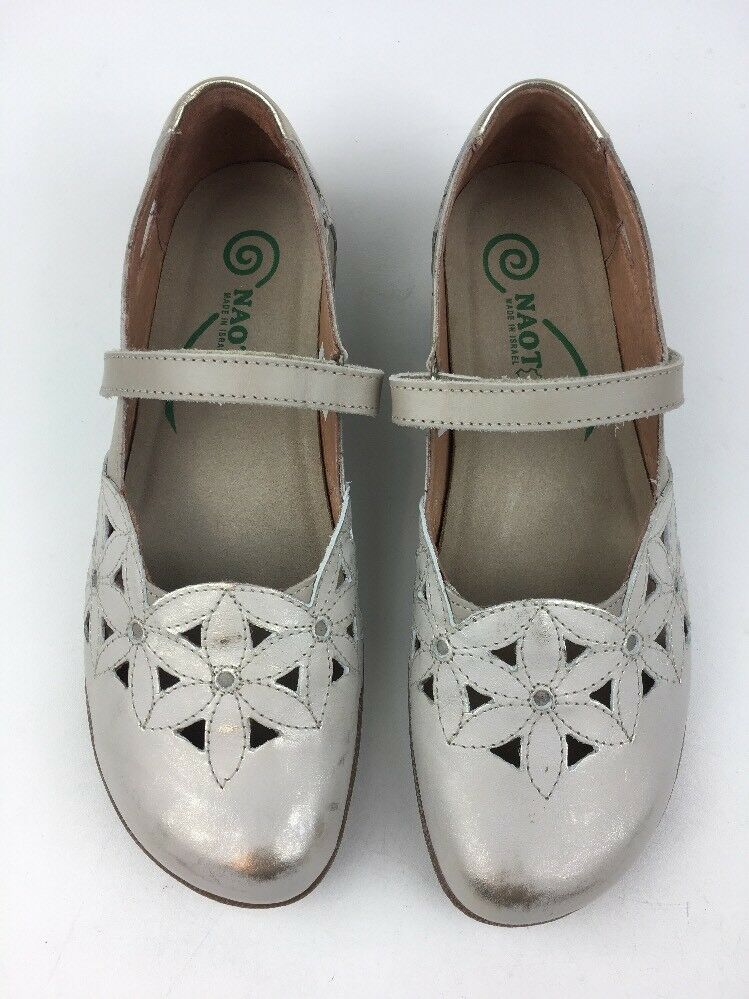 Naot Womens Taotoa Mary Janes shoes Size EUR 38, 38, 38, Dusty Silver 445 62af53