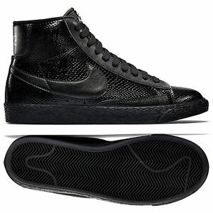 huge selection of e6c4f 90cfb Image is loading Nike-W-Blazer-MID-Leather-Premium-685225-001-