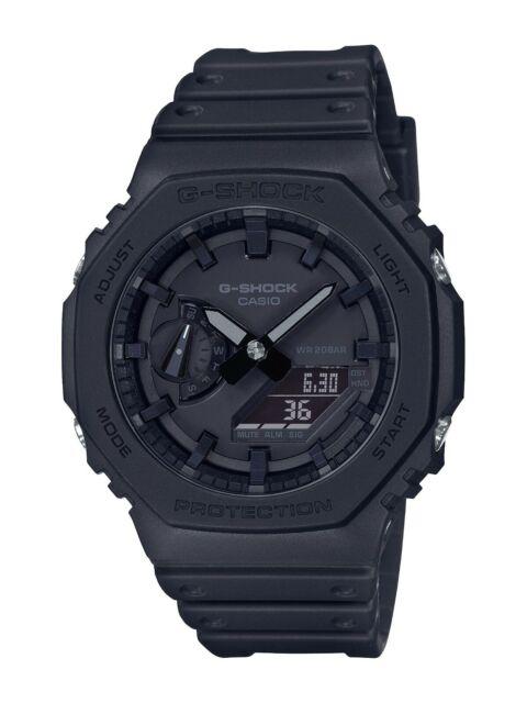 CASIO G-SHOCK Carbon Core Guard Black Watch GShock GA-2100-1A1 Casioak