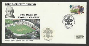 GB 1994 SUMMERTIME LORD'S CRICKET GROUND FDC Surrey Pictorial Postmark