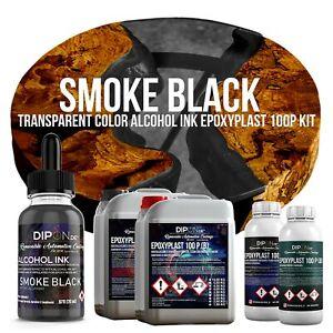 Epoxidharz EpoxyPlast 100P Smoke Black Schwarz Transparent Farbig Gießharz Epoxy