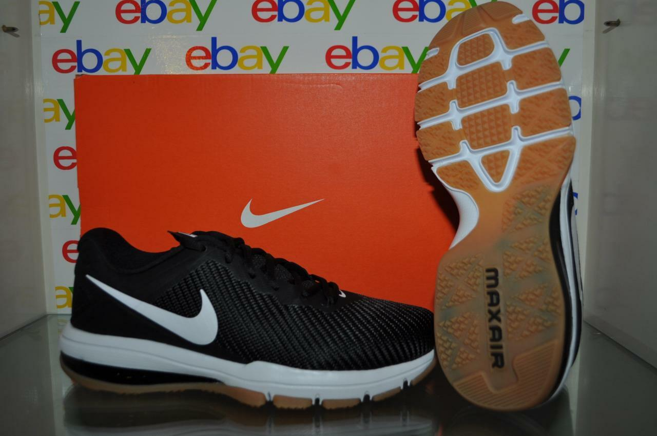Nike Air Max Full Ride TR TR TR 1.5 Mens Training shoes 869633 012 Black White NIB 208d15
