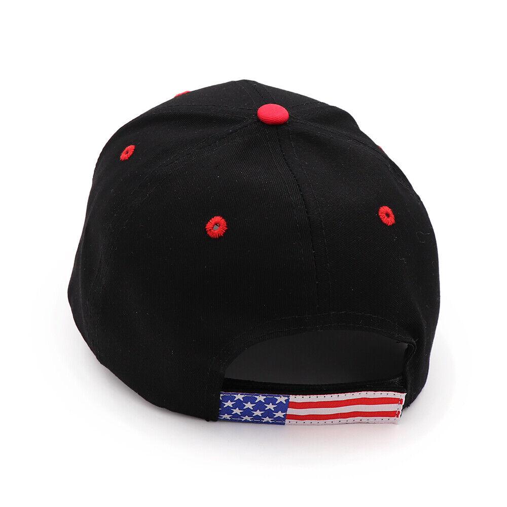 President Donald Trump 2020 USA Flag Baseball Cap Hat Make America Great Forever