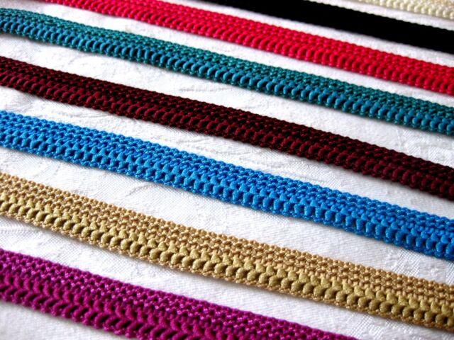 2m Borte /1,00€ pro Meter/  in  verschiedenen Farben, 15mm breit, B 259