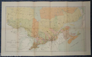 1904-26-75-034-x-16-5-034-Color-Map-of-Ontario-and-Quebec-Dominion-of-Canada