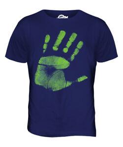 HAND-PRINT-PRINTED-MENS-T-SHIRT-FASHION-TOP-HIPSTER-SWAG-TRENDY-SHORT-SLEEVE