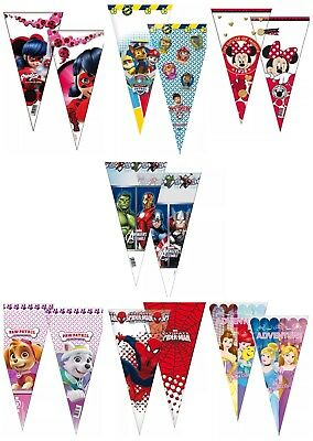 LadyBug Party Birthday Cello Loot Sweet Cone Filler Bags Pick 1 to 60