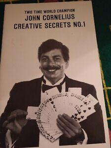 John-Cornelius-2-Time-World-Champion-Creative-Secrets-No-1-Harry-Lorayne