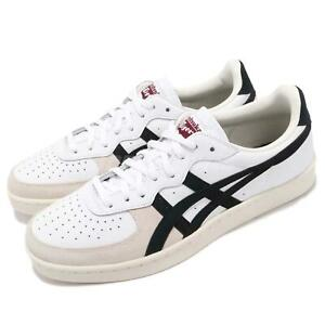 Asics-Onitsuka-Tiger-GSM-White-Black-Men-Women-Vintage-Shoes-Sneaker-D5K2Y-0190