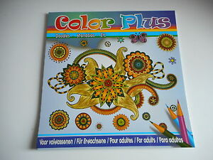 Details Sur Livre De Coloriage Adulte 24 Dessins 24 Pages Color Plus