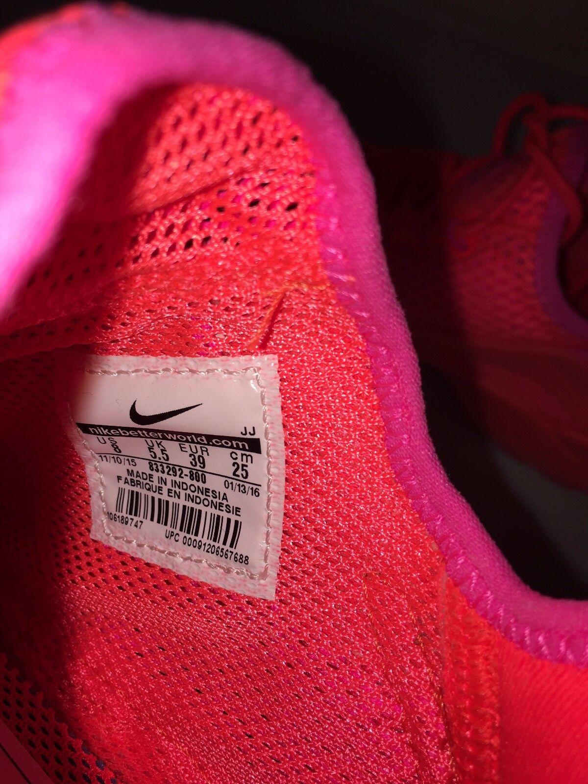Nike Air Huarache Run Ultra Breathe 833292-800 833292-800 833292-800 Total Crimson Red Pink Blast Rare 6b0752